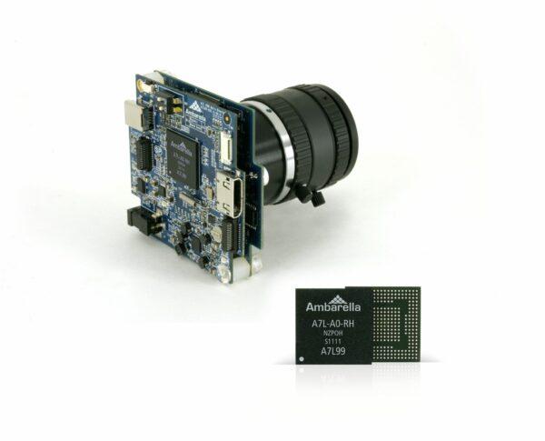 Ambarella-A7L-DSC-EVK-and-Chip